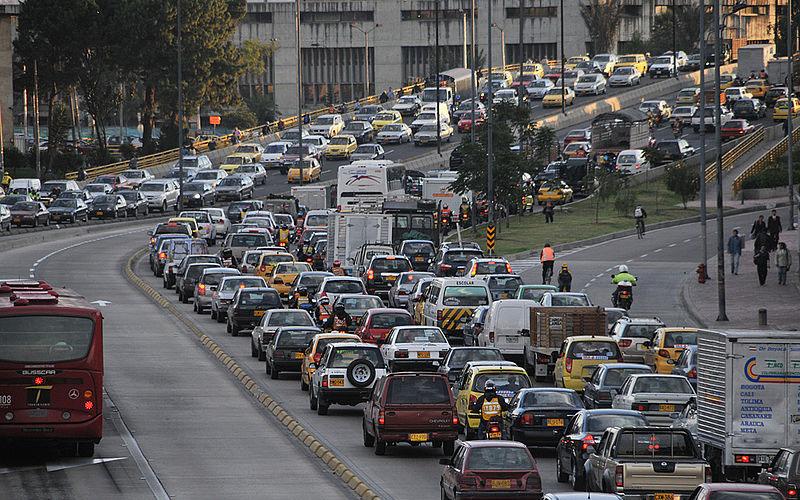 Conduire à Bogota