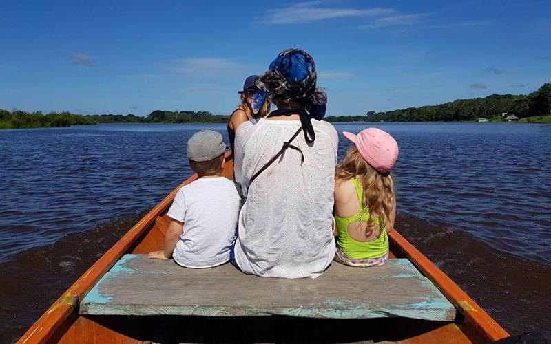 L'Amazonie, première partie